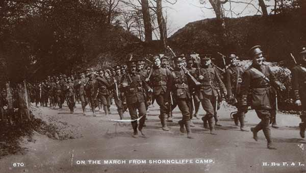 marching-from-shorncliffe